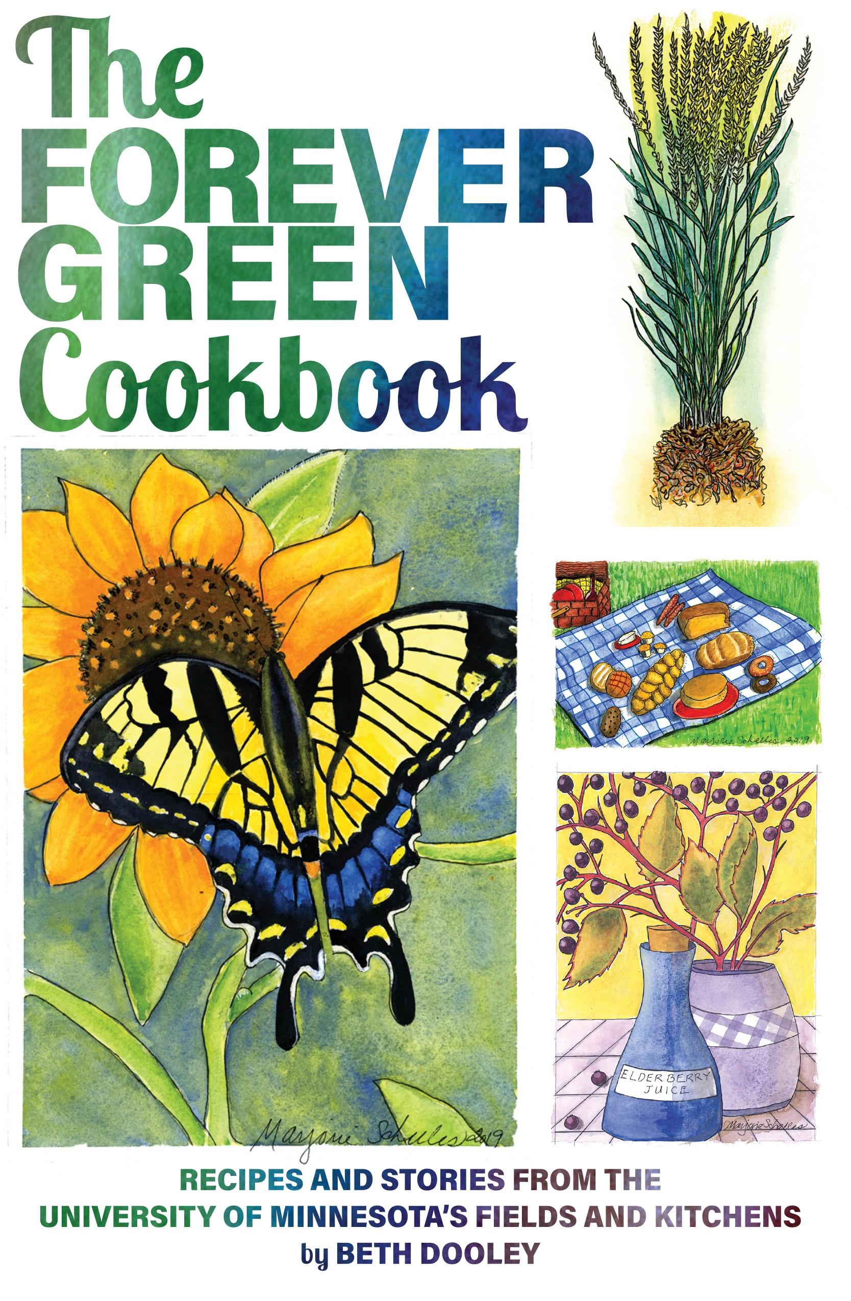 Forever Green Cookbook cover