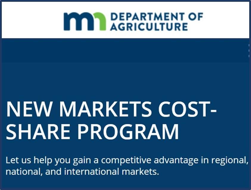 MDA New Markets Cost Share