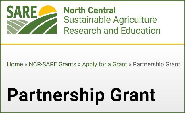 SARE Partnership Grant