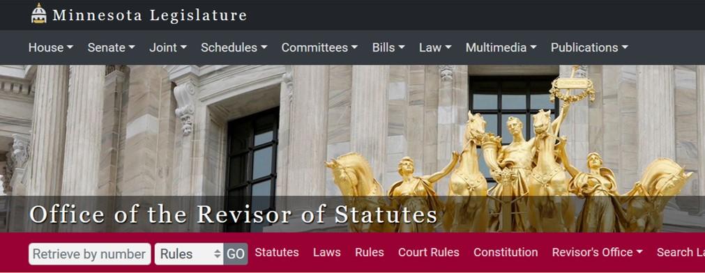 MN Revisor of Statutes