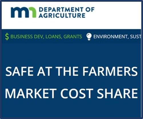 Safe at Farmers Market funding MDA