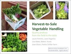 Vegetable Handling Front Cover